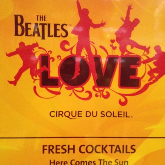 Photo taken at The Beatles LOVE (Cirque Du Soleil) by Memostres on 9/18/2012