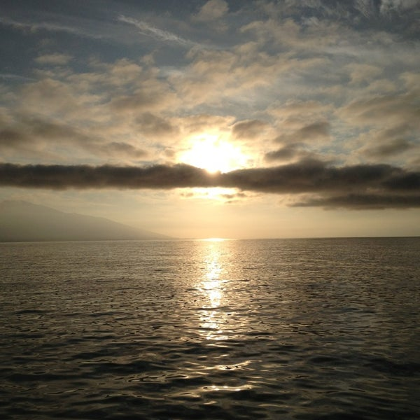 Photo taken at Pacific Ocean by Ada Luz on 12/31/2012