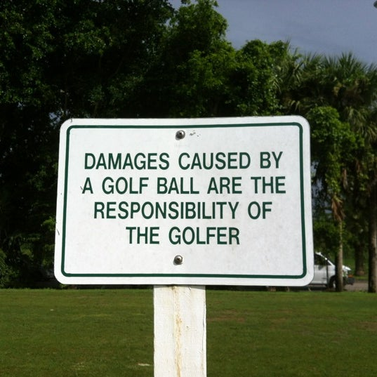 Photo taken at Palmetto Golf Course by Leo on 10/1/2012
