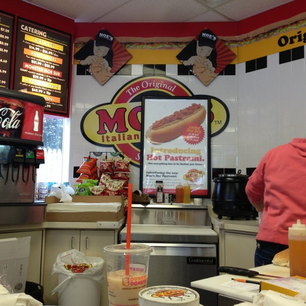 photo taken at moes subs in phillips 66 by david