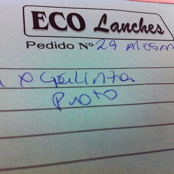 Foto tirada no(a) Eco Lanches por Alessandro P. em 6/7/2013