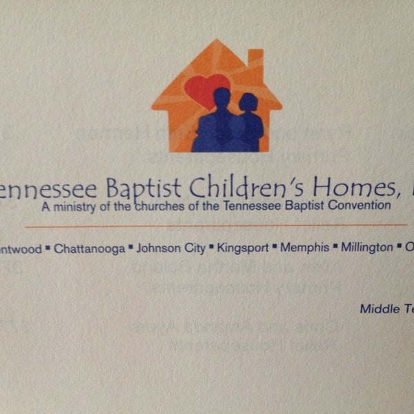 Tennessee Baptist Childrens Home - 1 tip