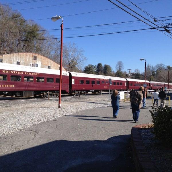 Photo taken at Great Smoky Mountain Railroad by John B. on 2/9/2013