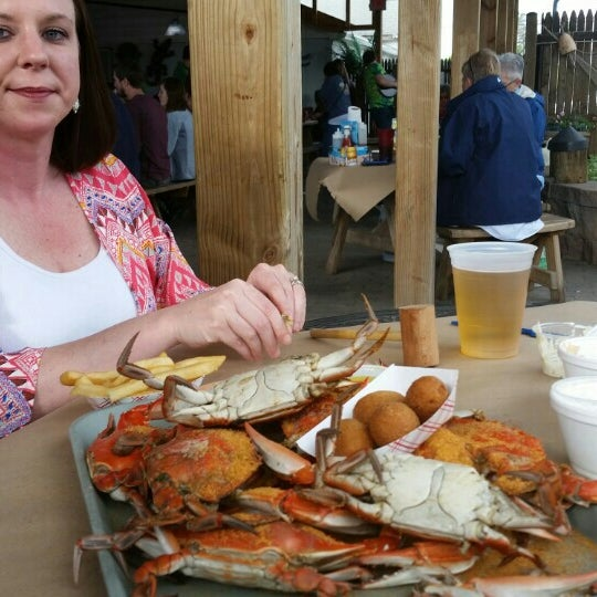 Photo taken at May's Crab & Seafood by Jeff B. on 5/2/2015