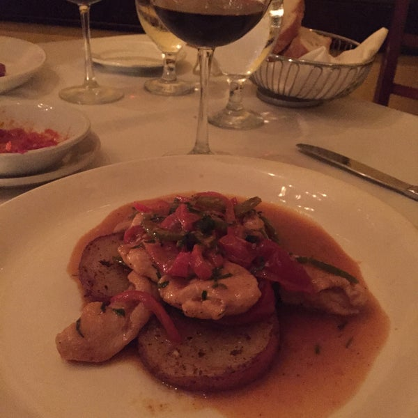 Photo taken at Luce Restaurant & Enoteca by Michael H. on 8/16/2015
