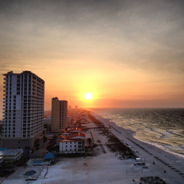 Photo taken at Hilton Pensacola Beach by Chris S. on 4/16/2013