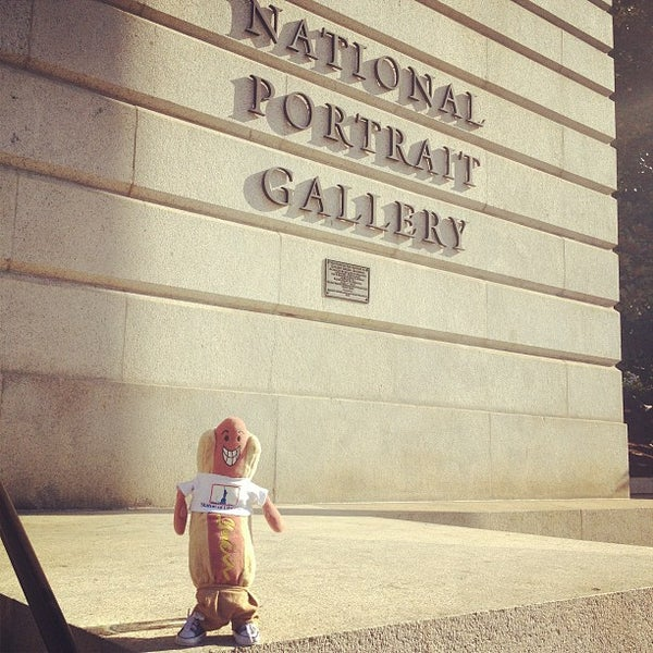 Photo taken at National Portrait Gallery by Hot Dog on 4/8/2013