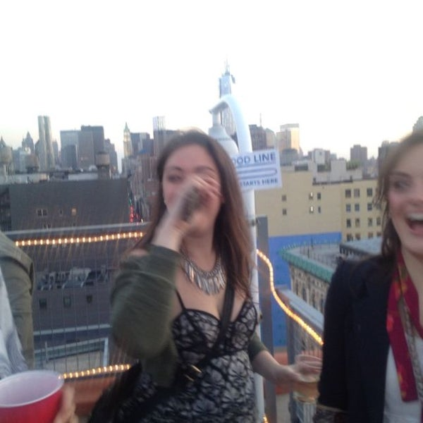 Photo taken at Meetup HQ Roof Deck by Bitsy M. on 5/17/2013