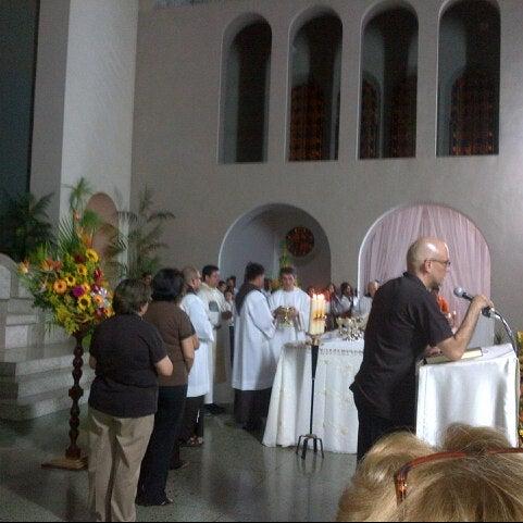 Photo taken at Iglesia Nuestra Señora De La Chiquinquira by Ana Carolina C. on 11/19/2012