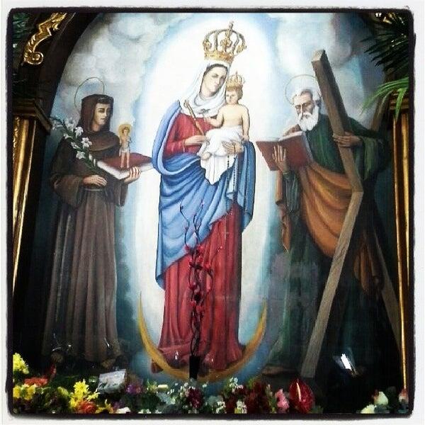 Photo taken at Iglesia Nuestra Señora De La Chiquinquira by Ana Carolina C. on 11/19/2013