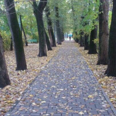 Снимок сделан в Щемиловский детский парк пользователем Mihhail S. 10/13/2012