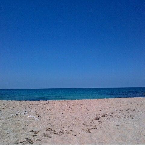 6/1/2013 tarihinde Emel A.ziyaretçi tarafından Karaburun Plajı'de çekilen fotoğraf