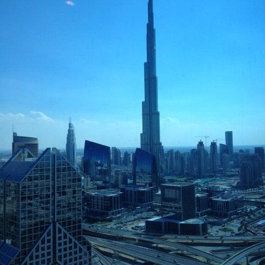 Photo taken at Shangri-La Hotel by Adam E. on 12/2/2012
