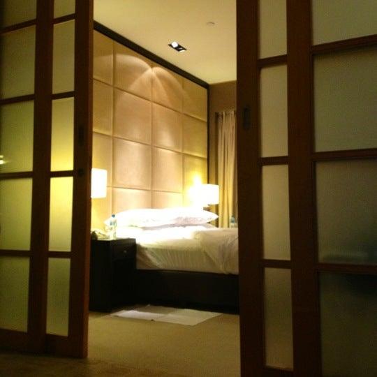 Photo taken at Shangri-La Hotel by Adam E. on 12/1/2012
