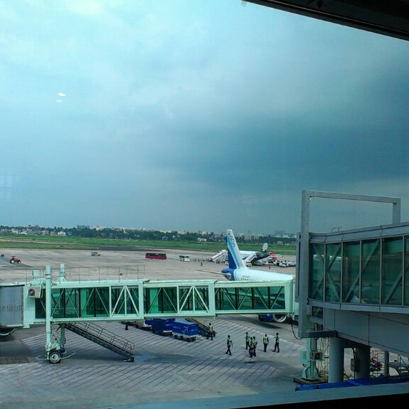Photo taken at Netaji Subhash Chandra Bose International Airport (CCU) by Gaurab D. on 6/28/2013