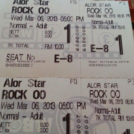 Photo taken at Big Cinemas by Nurul I. on 3/6/2013