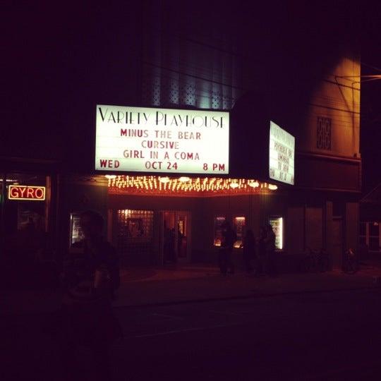 10/25/2012 tarihinde Ericaziyaretçi tarafından Variety Playhouse'de çekilen fotoğraf