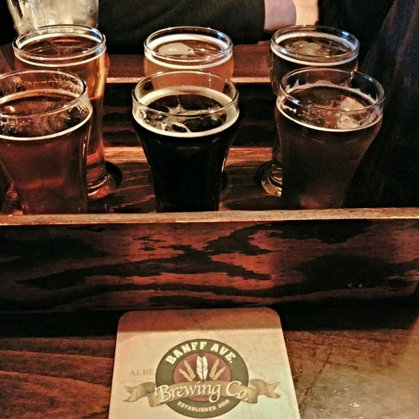 Photo taken at Banff Avenue Brewing Co. by Alex L. on 9/16/2016