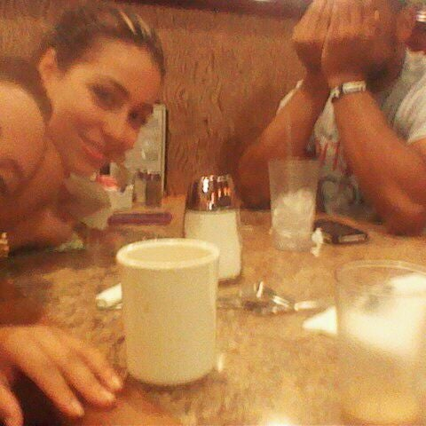 Photo taken at Tiffany Diner by Emely on 8/27/2011