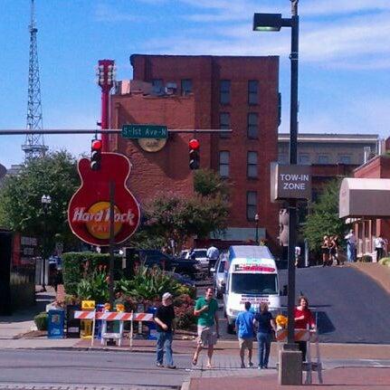 Photo taken at Hard Rock Cafe Nashville by Steve R. on 9/25/2011