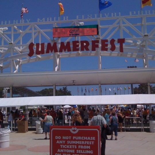 Photo taken at Summerfest 2011 by Paul B. on 6/29/2011