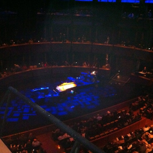 Photo taken at Rose Theater by Muriel S. on 3/10/2012