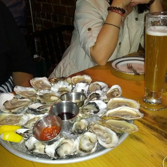 Photo taken at Upstate Craft Beer and Oyster Bar by Jen D. on 9/11/2012
