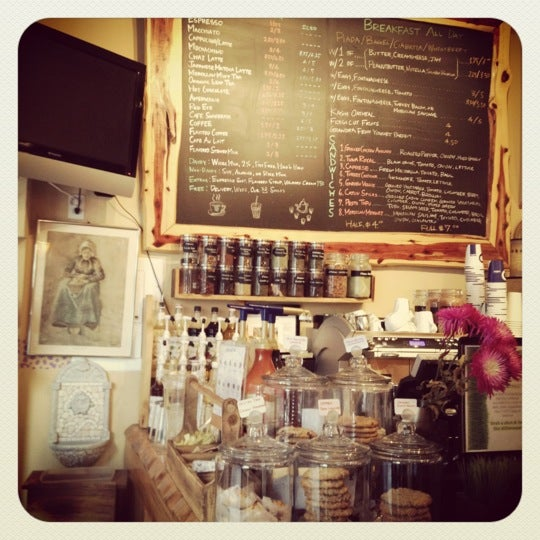 Photo taken at Pause Cafe by Honey S. on 1/9/2012