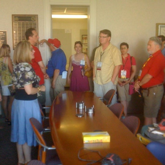 Photo taken at Johnston Hall by Michael G. on 7/30/2011