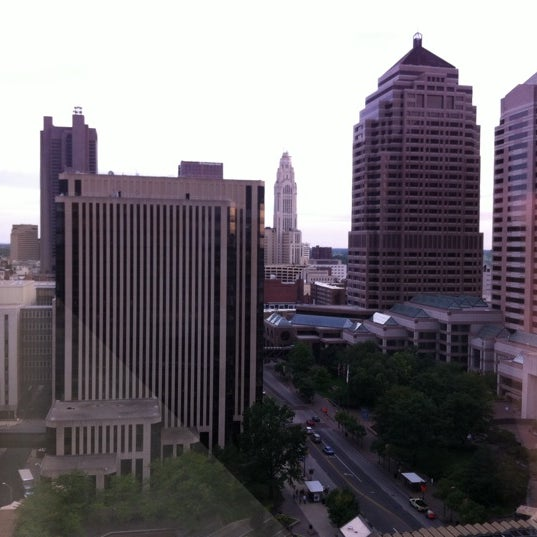 Photo taken at Hyatt Regency Columbus by Tracy W. on 8/30/2011