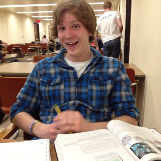 Photo taken at UWM Golda Meir Library by Tina W. on 3/13/2012