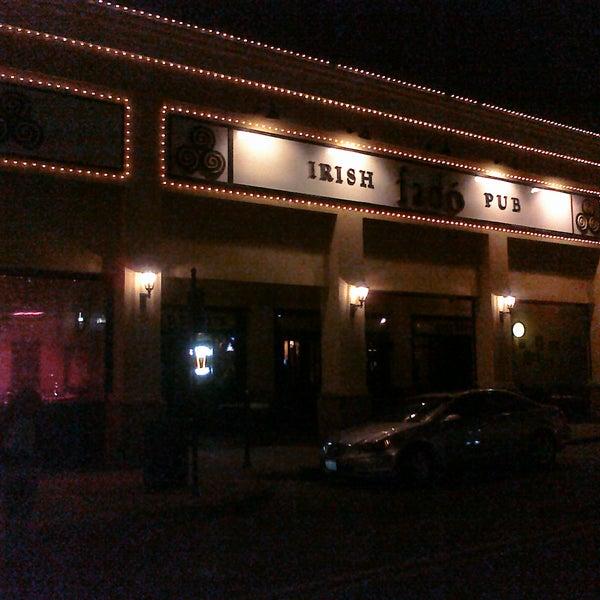 Photo taken at Fado Irish Pub & Restaurant by Gadrel on 2/13/2011