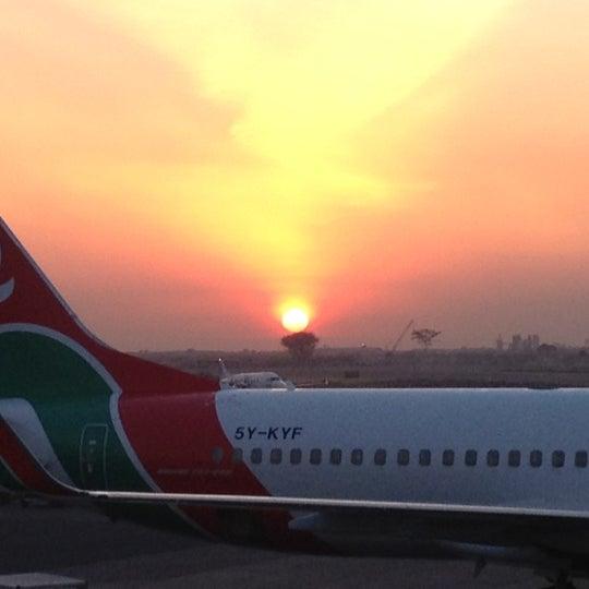 Photo taken at Jomo Kenyatta International Airport (NBO) by Andrew on 8/23/2012
