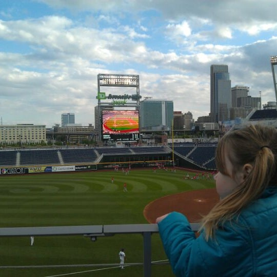 Photo taken at TD Ameritrade Park by Kevin M. on 5/8/2012