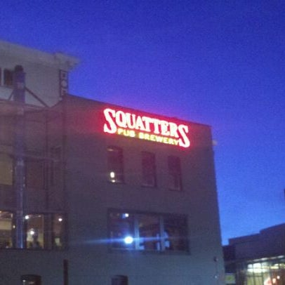 Photo taken at Squatters Pub Brewery by Patrick M. on 3/31/2012