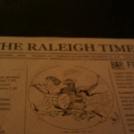 Photo taken at The Raleigh Times Bar by Steve J. G. on 3/23/2011