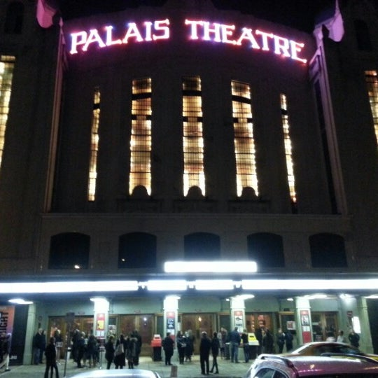 Photo taken at Palais Theatre by James S. on 6/9/2012