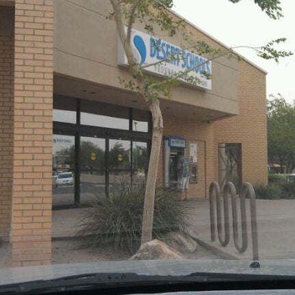 Photo taken at Desert Schools Federal Credit Union by Samantha L. on 10/4/2011