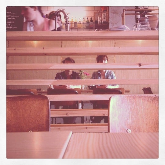 Photo taken at Lokaal Espresso by Floor D. on 6/13/2012