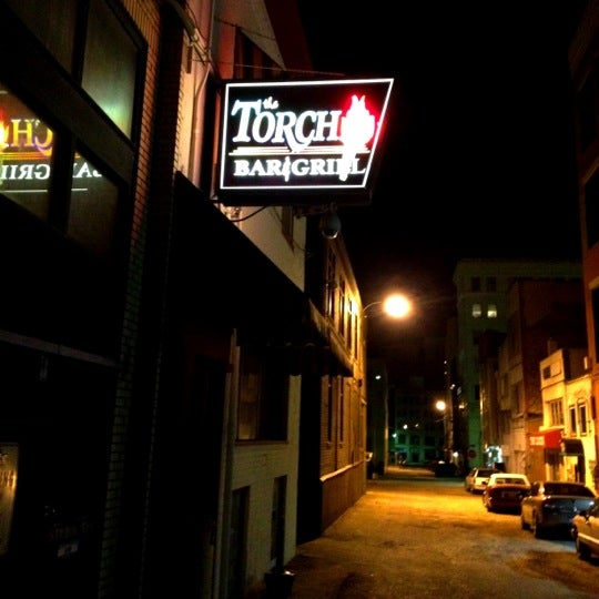 Photo taken at The Torch Bar and Grill by Amber M. on 3/28/2012