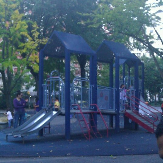 Photo taken at Central Park - Mariners' Gate Playground by Nastasia G. on 10/14/2011