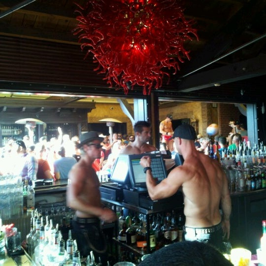 Photo taken at The Abbey Food & Bar by Luis R. on 7/2/2012