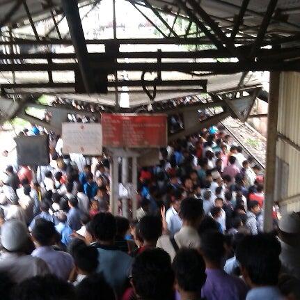 Photo taken at Dadar Railway Station by Harsha T. on 8/11/2012
