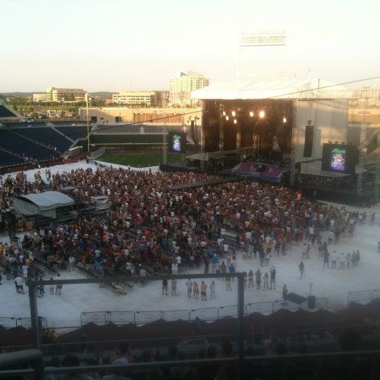 Photo taken at TD Ameritrade Park by David G. on 7/22/2012