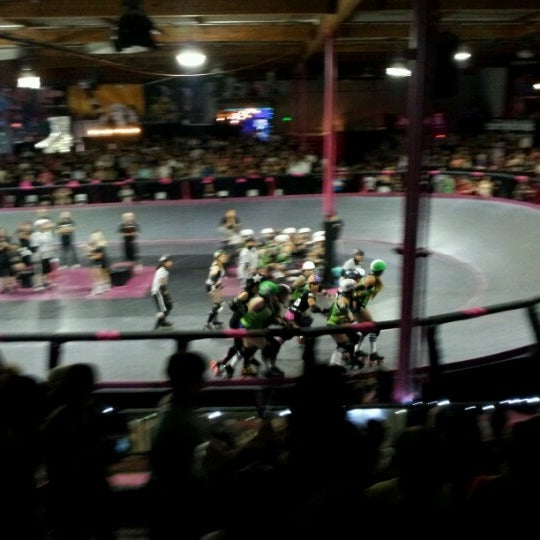Photo taken at Doll Factory (L.A. Derby Dolls) by Scott V. on 7/8/2012