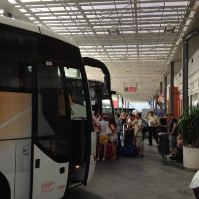 Photo taken at Autobusni Kolodvor Dubrovnik | Dubrovnik Bus Station by Hobeom R. on 7/30/2012