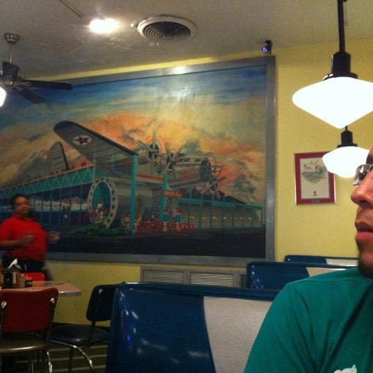 Photo taken at 59 Diner by julieta c. on 4/22/2012