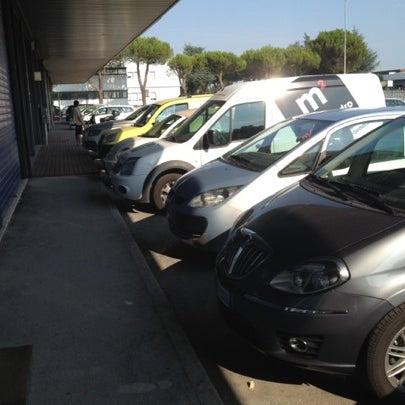Photo taken at Parcheggio Via Sassonia by Namer M. on 7/25/2012
