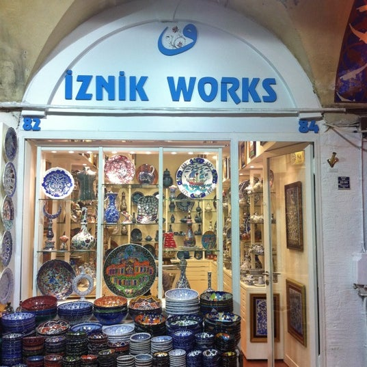 Photo prise au Iznik Works par Ekin U. le12/23/2010