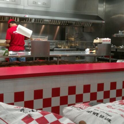 Photo taken at Five Guys by Vince M. on 11/30/2011